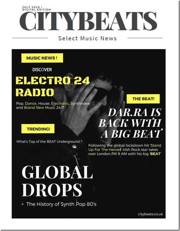 Citybeats Cover Star - July 2020 Edition  - Dar.ra The Beat_FINAL_L
